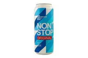 Напиток энергетический безалкогольный сильногазированный Original Non Stop ж/б 0.5л