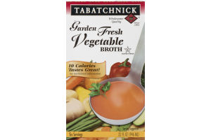 Tabatchnick Garden Fresh Vegetable Broth