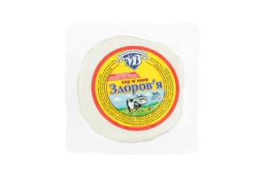 Сыр 40% мягкий Здоровье Вільнянський молокозавод кг