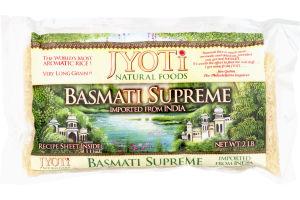 Jyoti Natural Foods Basmati Supreme Rice