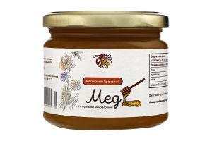 Мед натуральний квітковий гречаний, вищого ґатунку.