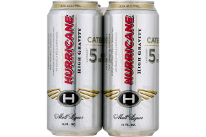 Hurricane Malt Liquor High Gravity Category 5 - 4 CT