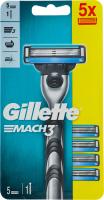 Бритва зі змінними касетами Mach 3 Gillette 1шт