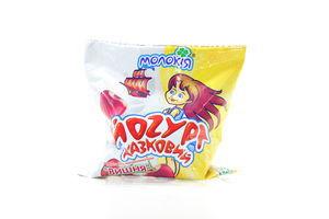 Йогурт Молокия Сказочный вишня 3% п/э 400г