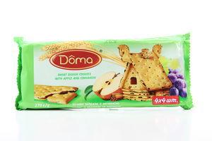 Печенье затяжное Doma с яблоком и корицей 270г