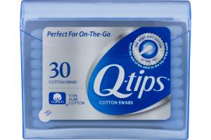 Q-tips Cotton Swabs - 30 CT