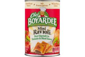 Chef Boyardee Mini Ravioli Beef