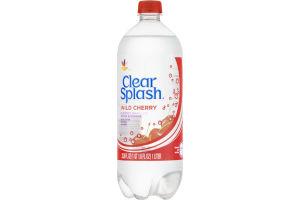 Ahold Clear Splash Flavored Sparkling Water Beverage Wild Cherry