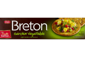 Dare Breton Crackers Garden Vegetable