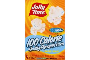 Jolly Time 100 Calorie Healthy Pop Kettle Corn Mini Bags - 4 CT