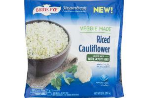 Birds Eye Steamfresh Veggie Made Riced Cauliflower Lightly Sauced