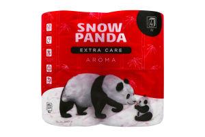 Сніжна панда EXTRA CARE туал.пап. 4-шаров. 4шт Aroma
