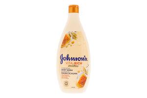 Гель для душу доглядаючий з йогуртом, вівсом і медом Smoothies Vita-Rich Johnson's 750мл
