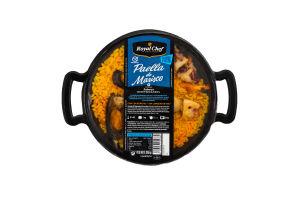 Паэлья с морепродуктами пастеризованная Royal Chef п/у 350г