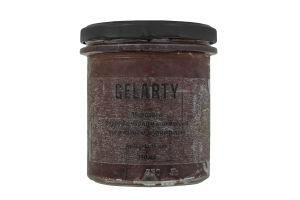 Мороженое Бурбон с черным шоколадом и вяленой клюквой Gelarty с/б 350мл