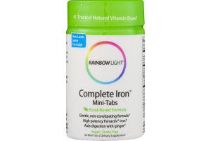Rainbow Light Complete Iron Mini-Tabs Dietary Supplement Mini-Tabs - 60 CT
