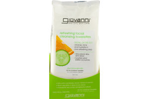 Giovanni Refreshing Facial Cleansing Towelettes - 30 CT