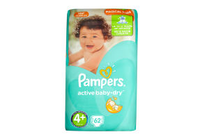 Підгузки Pampers Act.baby Maxi Plus Джамбо 9-20кг 62шт