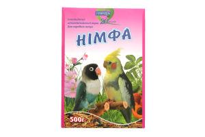 Корм Природа Німфа д/середніх папуг 500г х6