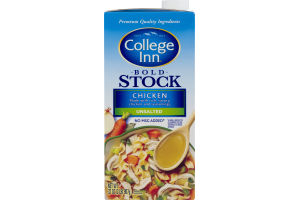 College Inn Bold Stock Unsalted Chicken