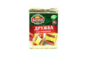 Сыр плавленый 55% Дружба Комо фольга 90г