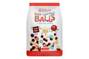 Завтрак готовый со вкусом ванили и шоколада Duo Balls Doctor Benner м/у 150г