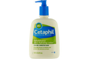 Cetaphil Dry Sensitive Daily Advance Ultra Hydrating Lotion
