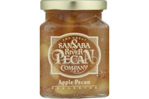 The Great San Saba River Pecan Company Apple Pecan Preserves
