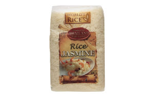 Рис Жасмин World's Rice м/у 500г