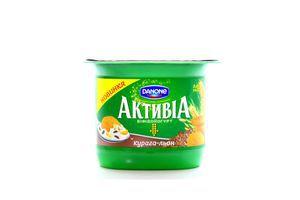 Бифидойогурт Курага-лен 3% Активиа 140г