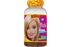 L'il Critters Barbie Complete Multivitamin Gummies Fruit Flavors - 190 CT