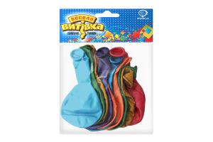 Набір кульок Веселая Затея металік 25см 10 од.1111-0106