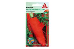 """Нас. Морква """"Червоний велетень"""" 3г /Агроконтракт/"""