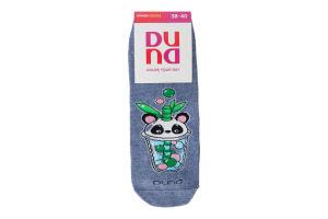 Шкарпетки жіночі Duna №3135 23-25 джинс
