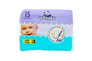 """Підгузники """"PANDA"""" midi 14шт /Bella/"""
