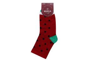 Шкарпетки жіночі Marca №42115 23-25 кавун червоний