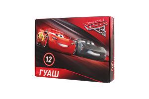 "Фарба гуаш ""Cars 3"" 12кол. (630018)6072698"