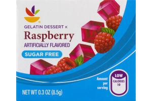 Ahold Gelatin Dessert Raspberry Sugar Free