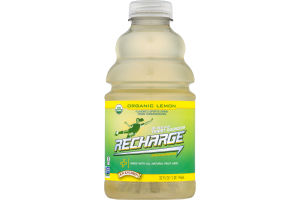 R.W. Knudsen Family Recharge Thirst Quencher With Electrolytes Organic Lemon