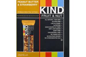 KIND Fruit & Nut Bar Peanut Butter & Strawberry - 12 CT