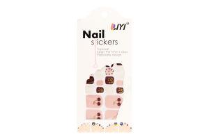 Стикеры для ногтей декоративные в ассортименте