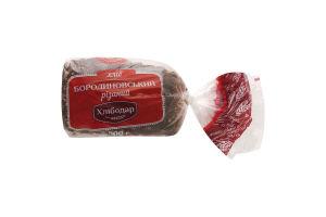 Хлеб резаный Бородиновский Хлібодар м/у 500г