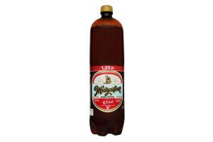 Пиво 1.25л 4.2% светлое Жигулівське п/бут