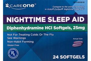 CareOne Nighttime Sleep Aid - 24 CT