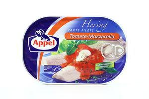 Сельдь филе в томатном соусе с Моцареллой Apple 200г