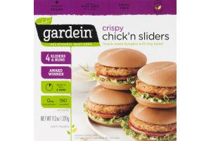 Gardein Chick'n Sliders Crispy - 4 CT