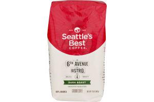 Seattle's Best Coffee Ground Medium-Dark & Rich Signature Blend No. 4