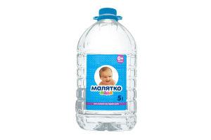 Вода для детей с рождения питьевая б/газ Малятко п/бут 5л