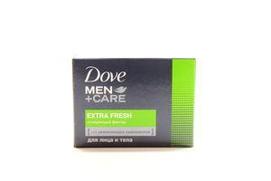 Крем-мыло Экстра свежесть Men+Care Dove к/у 90г