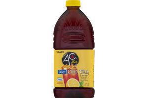 4C Real Brewed Diet Iced Tea Lemon